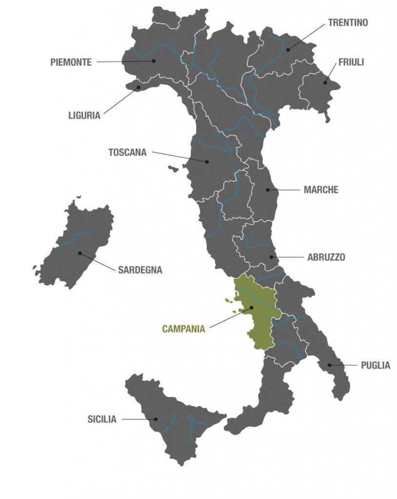 Campania in Italie